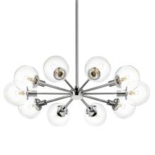 Orb 10-Light Radial Pendant