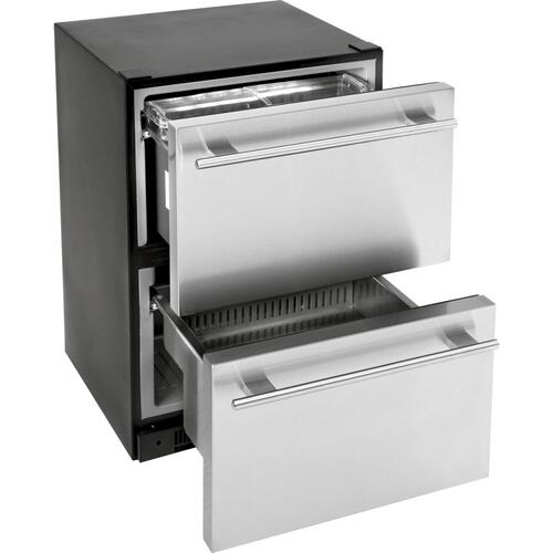 Scratch and Dent - 5.4 Cu. Ft. Built-In Dual-Drawer Refrigerator