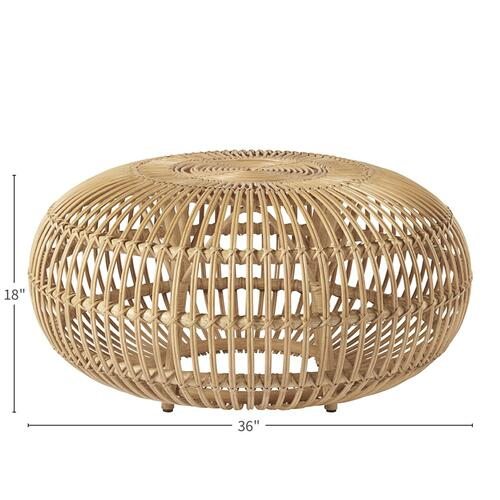 Universal Furniture - Rattan Scatter Table