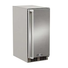 15-In Outdoor Built-In Clear Ice Machine with Door Swing - Right, Pump - Yes