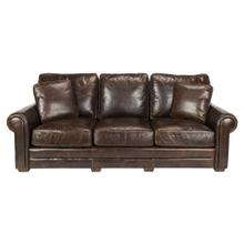 Walter Leather Sofa - Cocoa