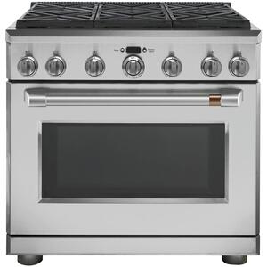 "Café 36"" All-Gas Professional Range with 6 Burners (Natural Gas) Product Image"