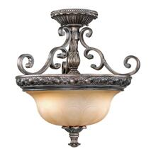 "Bellagio 18"" Semi-Flush Mount (Dual Mount) Parisian Bronze"