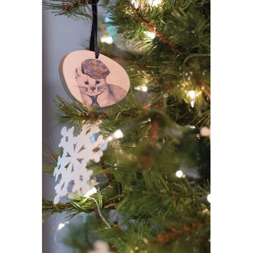 """3.5"""" E+E Framily Portrait Ornament (Benny Marten Option)"""