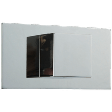 "Volume Control 1/2"" Trim Kit, SQU + Letterbox"