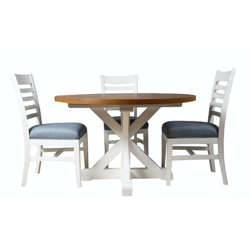 Dining Table, Available in Hampton Grey and Hampton White finishes.