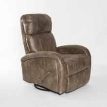 View Product - Armchair rocking reclining and swiveling fabric brown (JP066) 153150