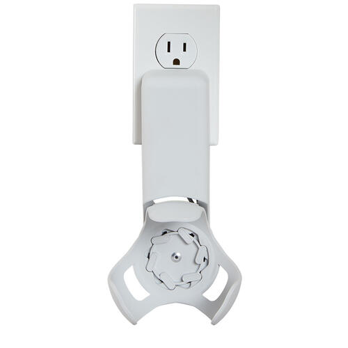 Sanus - White Amazon Echo Dot (4th Gen) Outlet Hanger