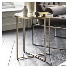 GA Torrance Side Table Silver