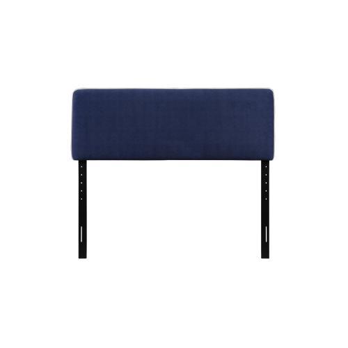Emerald Home Cal King 6/0 Upholstered Headboard Navy Blue #602 B353-13hb-04