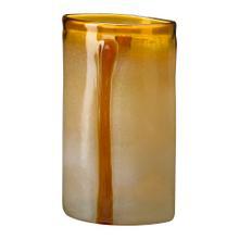 See Details - Lg Cream/cognac Vase