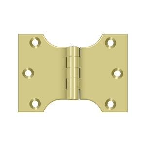 "Deltana - 3"" x 4"" Hinge - Polished Brass"