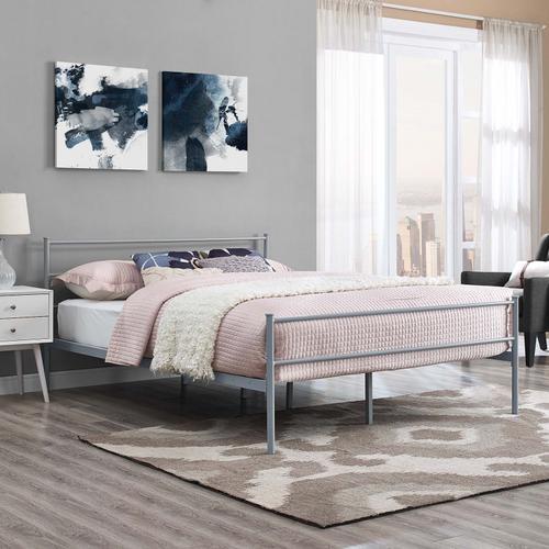 Modway - Alina Full Platform Bed Frame in Gray