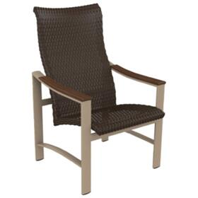 Brazo Woven High Back Dining Chair