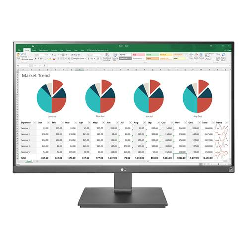 LG - 27'' IPS UHD 4K Monitor (3840x2160) with USB Type-C™ Connection, Dynamic Action Sync & AMD FreeSync™ Technology