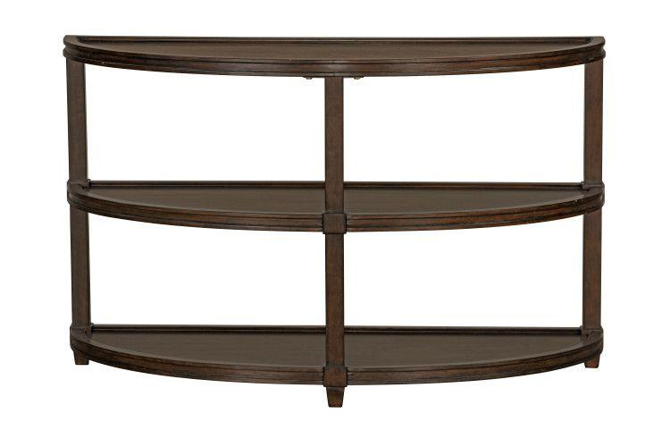 Bryant Sofa Table, Honey Brown
