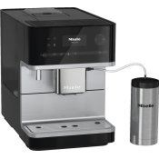 CM 6350 - Countertop coffee machine with OneTouch for Two feature and integrated cup warmer for perfect coffee.