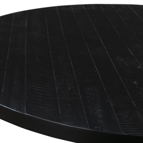 Rishi Black Rope Round Table