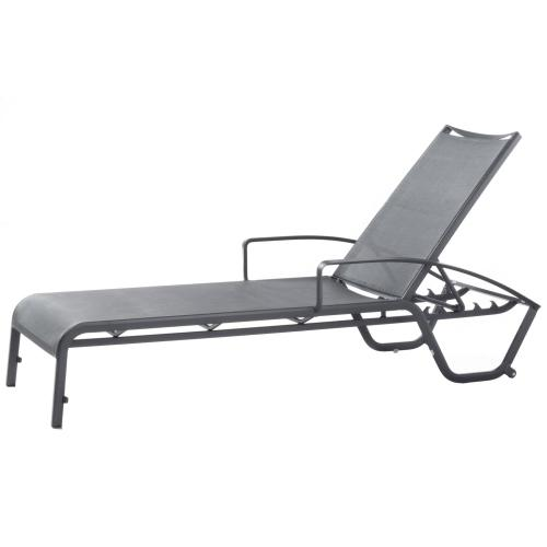 Product Image - Maribo Aluminum Sling Chaise with arm