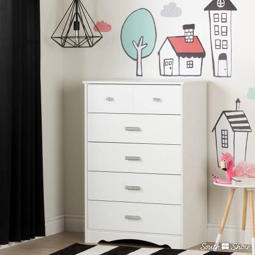 Night Garden Theme Wall Decals - Pink and Black