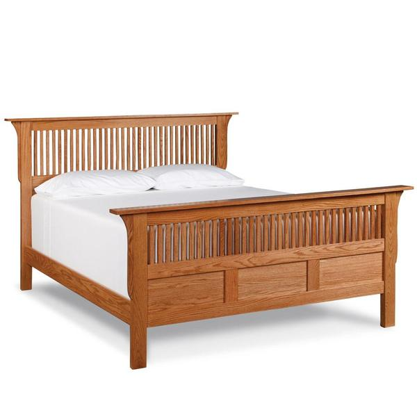 See Details - Prairie Mission Paneled Slat Bed, Queen