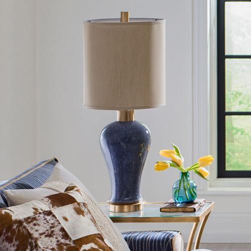 Callia Table Lamp, GRAY, Lamp
