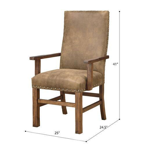 Emerald Home Furnishings - Upholstered Dining Arm Chair