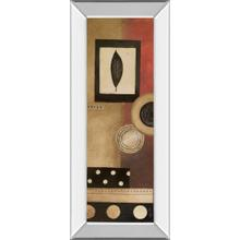 """Radius Panel I"" By Kimberly Poloson Mirror Framed Print Wall Art"