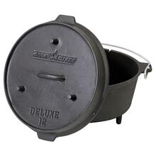 "12"" Cast Iron Deluxe Dutch Oven"