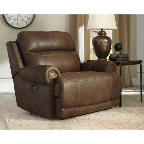 Austere Oversized Power Recliner