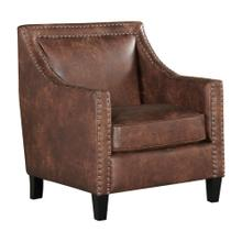 Erica Chair with Chrome Nails In Sierra Toffee