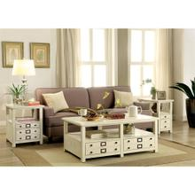 View Product - Sullivan - Coffee Table - Country White Finish