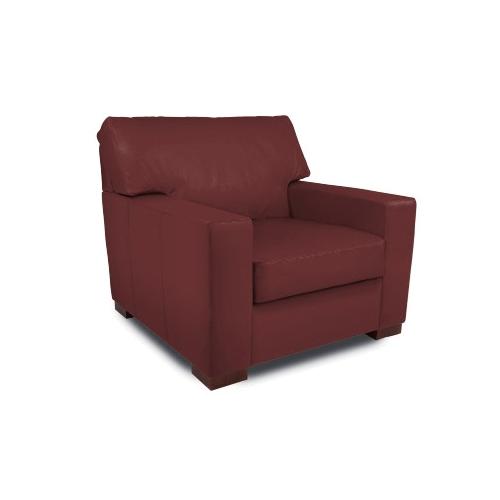 Summit Crimson - Leather