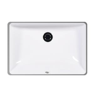 """White MUSE Undermount Lavatory, 18"""" Product Image"""