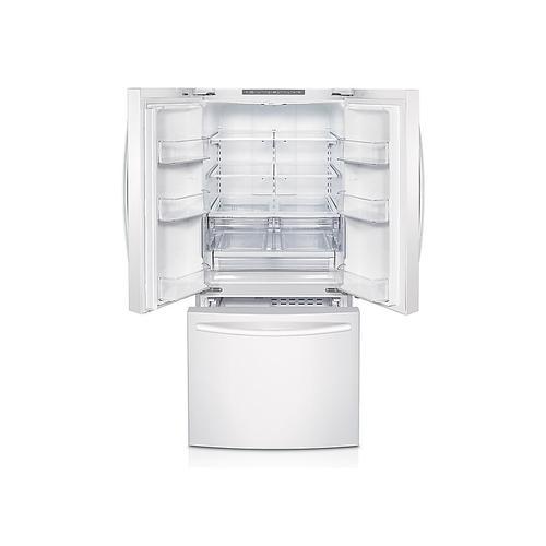Samsung - 22 cu. ft. French Door Refrigerator in White