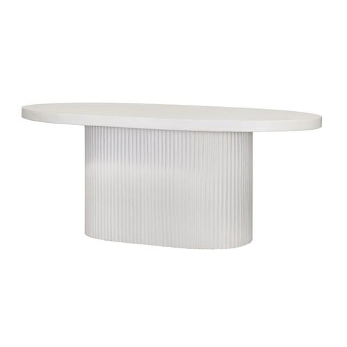 Tov Furniture - Wave Concrete Dining Table