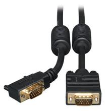 VGA High-Resolution RGB Coaxial Cable (HD15 M/M), Right-Angle Connector), 6 ft. (1.83 m)