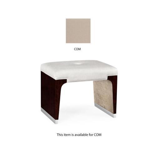 Dressing stool, upholstered in COM