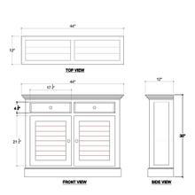 See Details - Shutter Narrow Sideboard