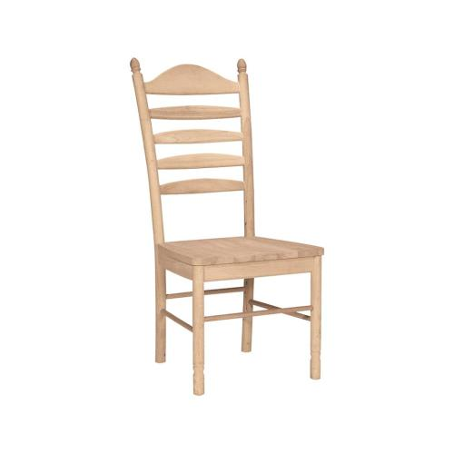 Unfinished Bedford Ladderback Chair