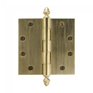 "Plain Bearing Extruded Hinge - 4.5"" x 4.5"" Silicon Bronze Brushed Product Image"