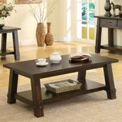 Windridge - Angled Leg Coffee Table - Sagamore Burnished Ash Finish