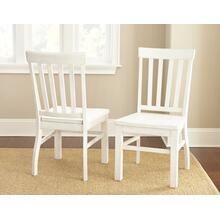 View Product - Cayla Side Chair, White