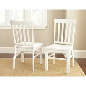 Cayla Side Chair, White