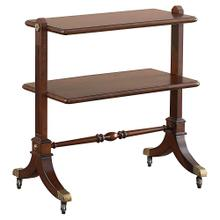 Woodberry Chairside Tier Table