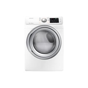 Samsung7.5 cu. ft. Electric Dryer with Steam in White