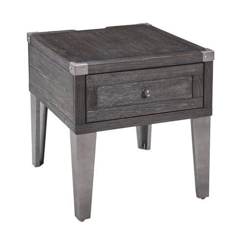 Signature Design By Ashley - Todoe End Table With Usb Ports & Outlets