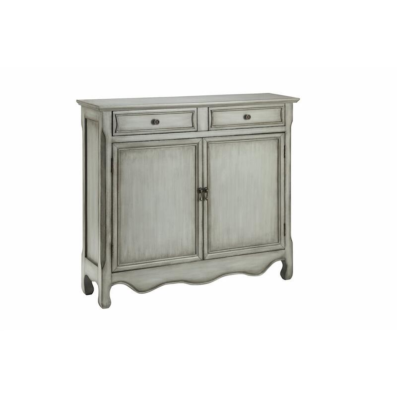 Claridon 2-door 2-drawer Cabinet In Grey