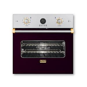 "30"" Single Custom Electric Premiere Oven, Brass Accent"