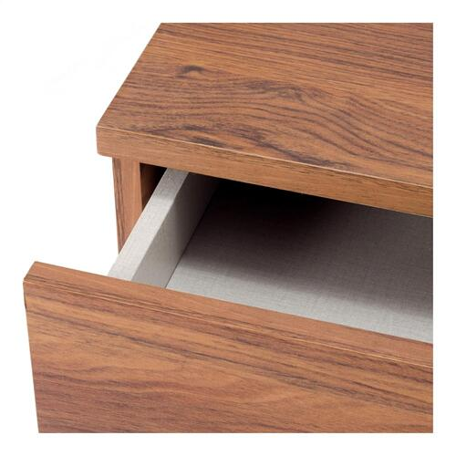 "Reeve 32"" KD Stair Desk, Walnut (ASSEMBLY REQUIRED)"